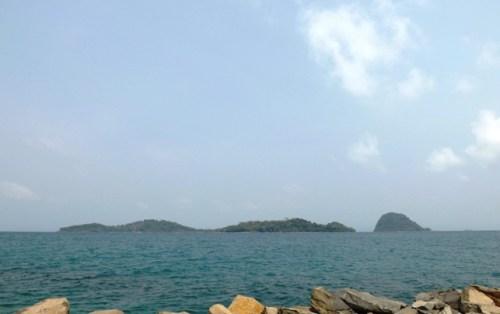 Pantai Selaki Tarahan Lampung Selatan