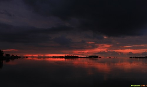 Sunset pulau pari 08