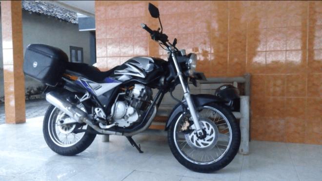 Restorasi Yamaha Scorpio 2005
