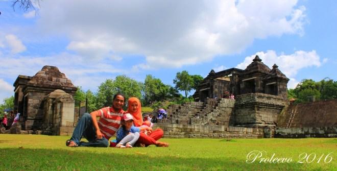 [Traveling Gallery] Candi Ratu Boko 2016