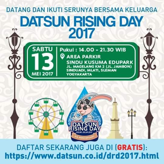 Datsun Day 3 Akan Digelar di Yogyakarta