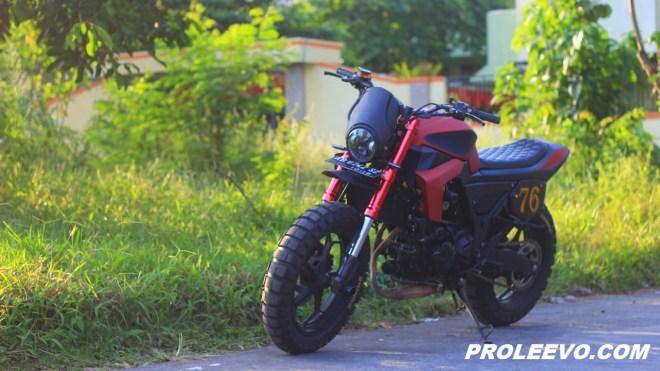"Modifikasi Kawasaki Z 250 Custom ""FLAT TRACKER"" Jogja"