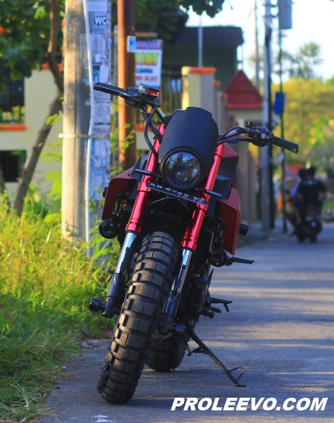 "Modifikasi Kawasaki Z 250 Custom ""FLAT TRACKER"" Jogja"