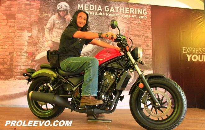 Video: Review Honda Rebel 500 2017 Indonesia