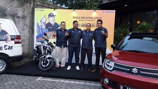 Suzuki Peduli Mudik 2017, Siaga Melayani Anda