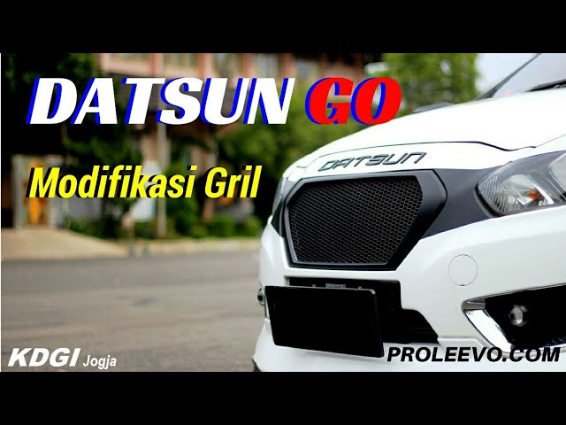 Video Tutorial Modifikasi Gril Datsun Go Model Jaring Sarang Tawon