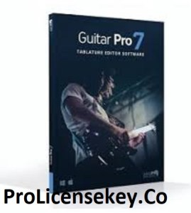 Guitar Pro 7.5.5 Crack With License 2021 Full [New] Download.