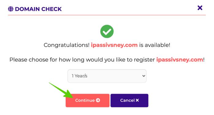 Check domain khi mua hosting