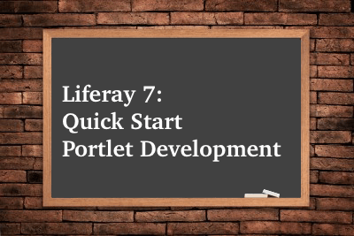 Quick-Start-Portlet-Development