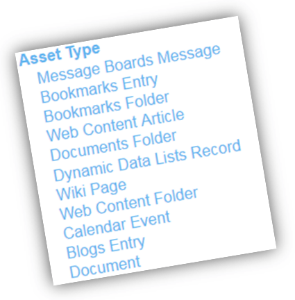 Important Code Snippets for Liferay Asset Publisher ADT