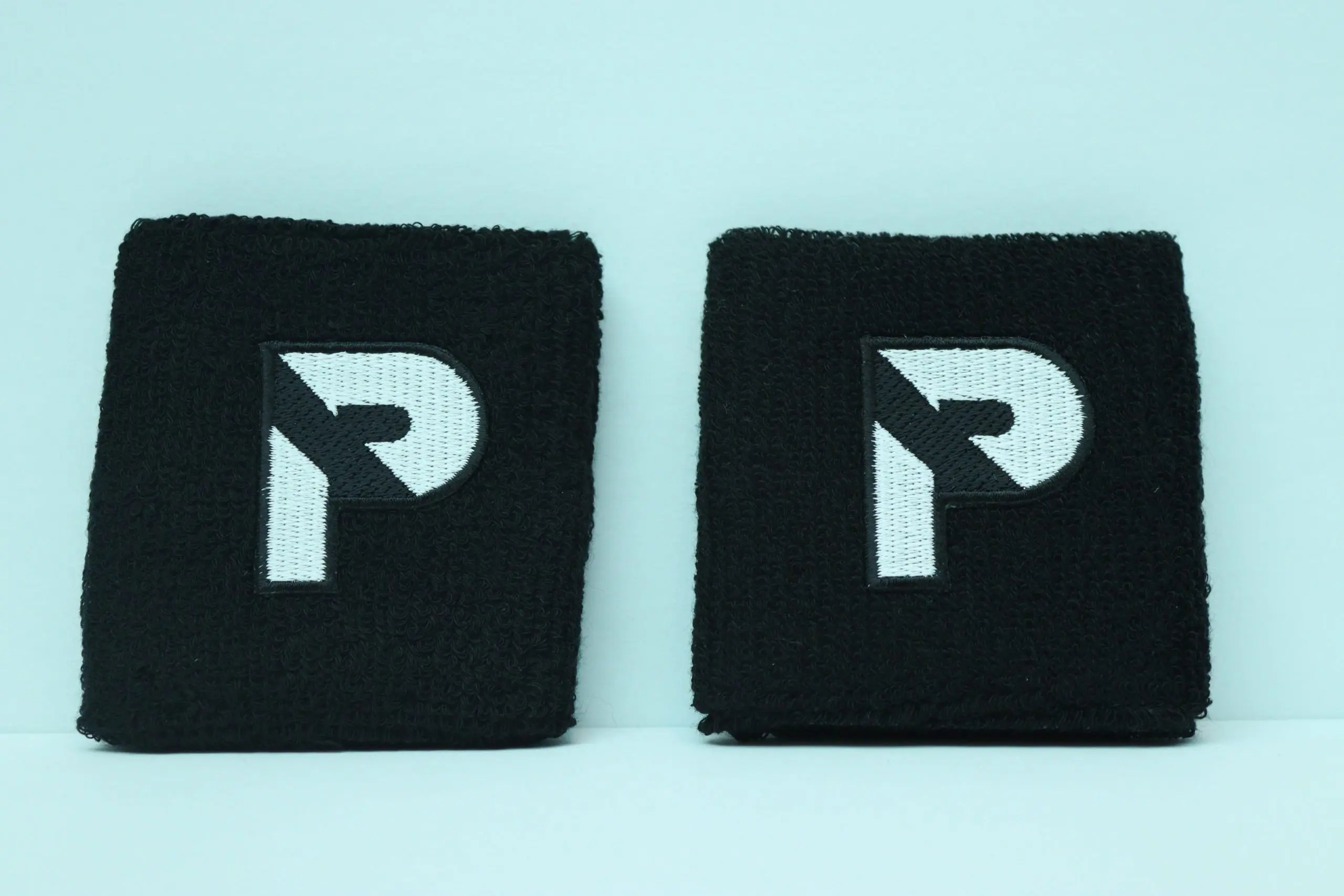 Black Performance Wristbands (2-Pack)