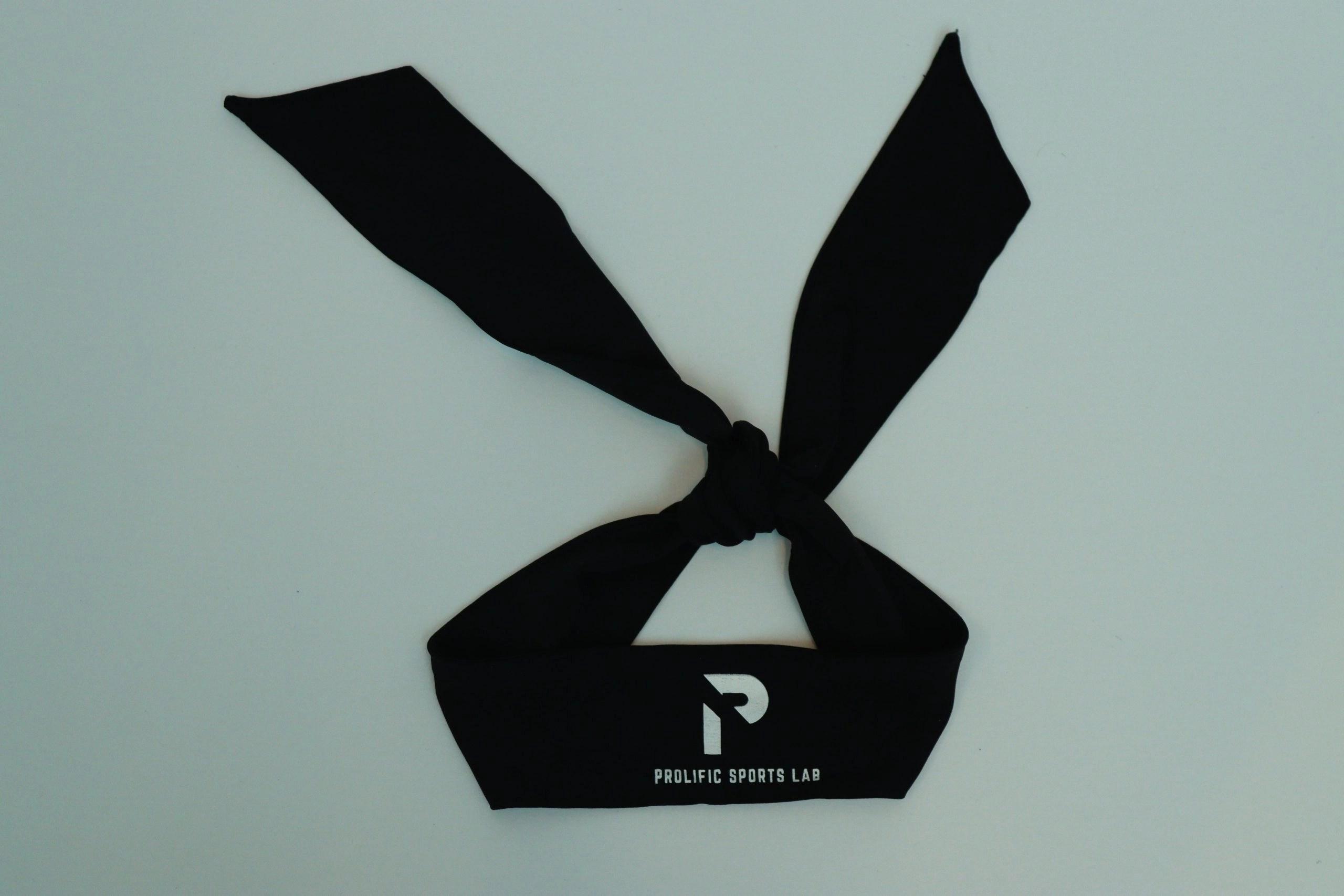 Black Performance Tieback Headband