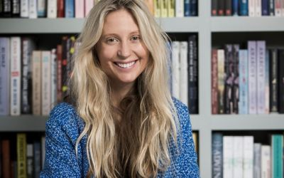 Literary agent Hellie Ogden