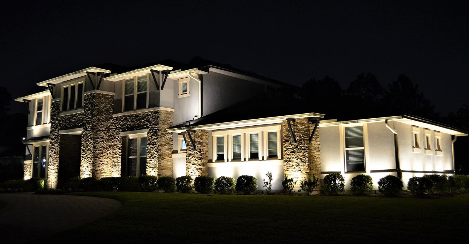 home exterior lighting design