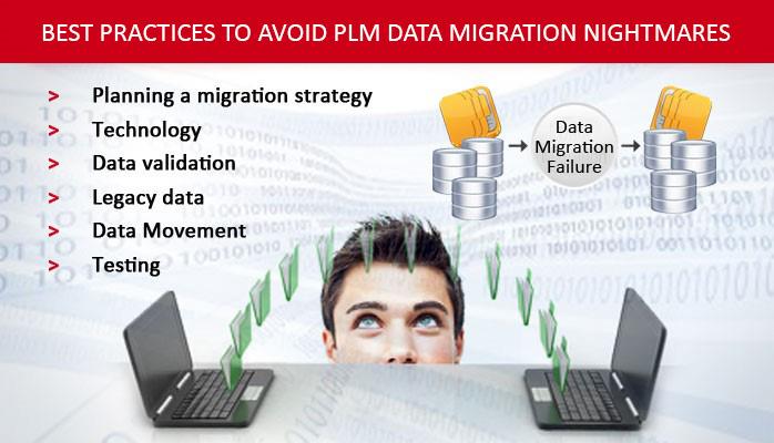 Best Practices to Avoid PLM Data Migration Nightmares