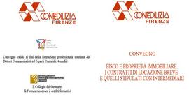 Firenze e Genova: due importanti convegni