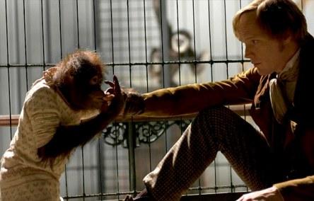 Paul Bettany în rolul lui Charles Darwin din filmul Creation