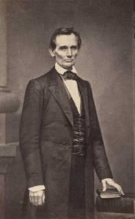 Mathew Brady photo of Lincoln, Feb 27, 1860. National Portrait Gallery, Smithsonian