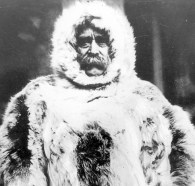 Robert Peary outfitted for Arctic exploration (306-NT-542-1)