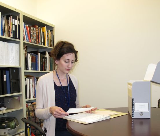 Stacey Chandler is an archives technician at the John F. Kennedy Library.
