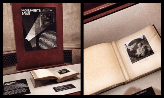 This month's Featured Document display is a piece of Monuments Men history.