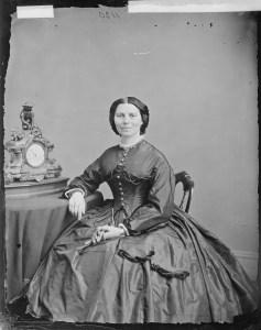 Miss Clara Barton, ca. 1860 - ca. 1865 by Mathew Brady (National Archives Identifier 526057)