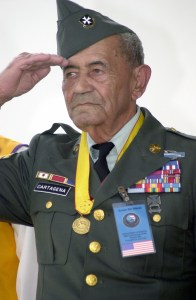 Veterano de la Guerra de Corea, el Sargento de Primera Clase (Ret) Modesto Cartagena, 12/02/2000 (Identificador de los Archivos Nacionales: 6519402)