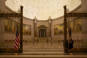 Rotunda for the Charters of Freedom, 2014. (Photo by Jeff Reed)