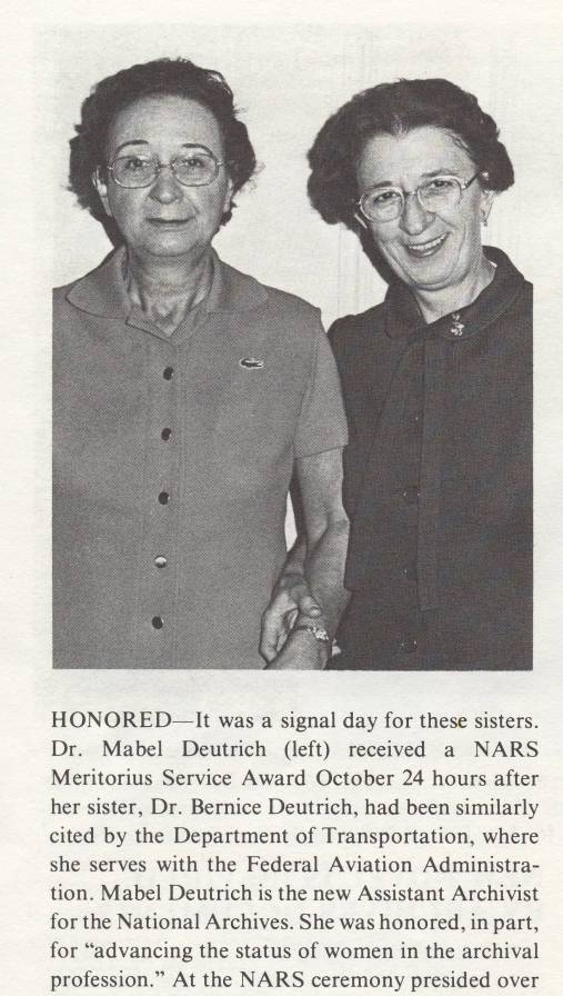 NARS Newsletter, February 1976 (National Archives)