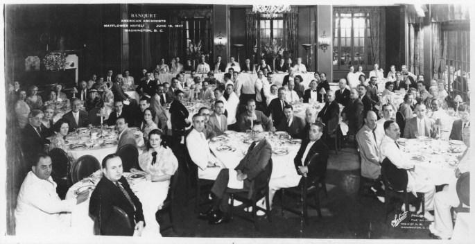 64-NA-1-1 SAA Banquet, June 18, 1937