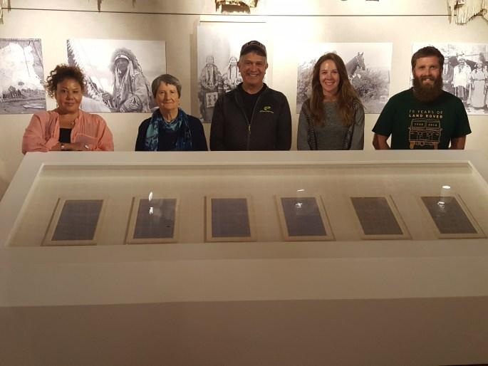 2018 Warm Springs Museum - Installation Team Photo