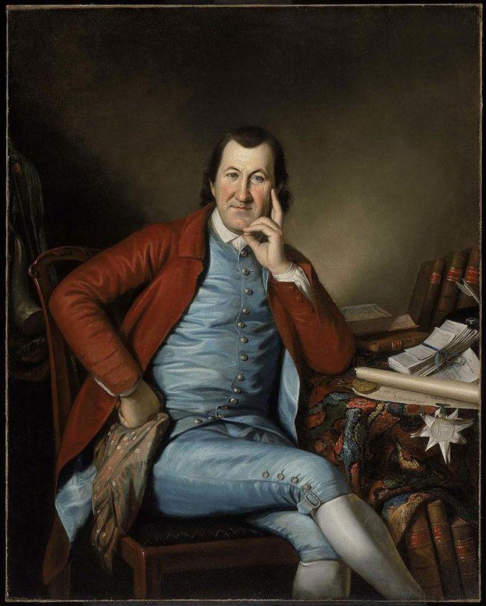 Timothy Matlack, ca. 1790. (Museum of Fine Arts, Boston)