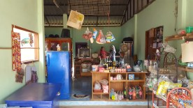 Convenience store with the family's living space in the back
