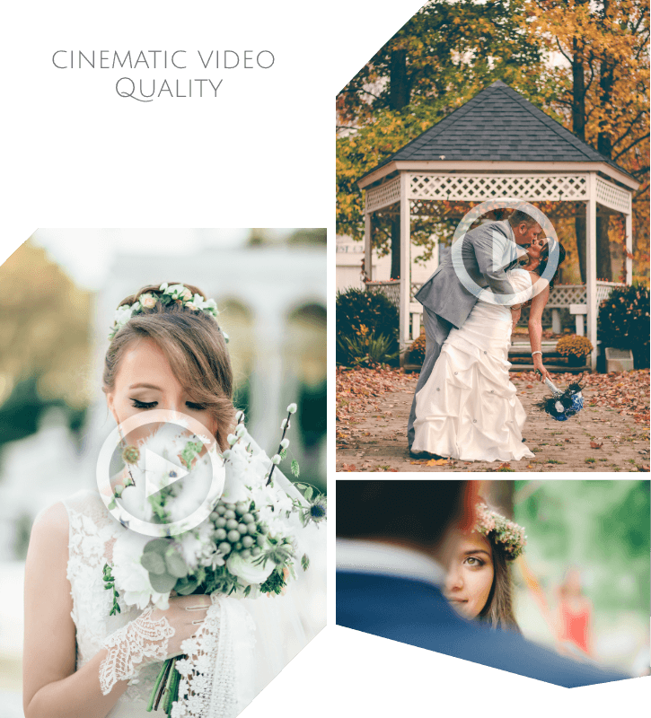 wedding photo & video packages