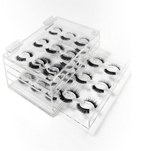 Unique luxury eyelash container custom
