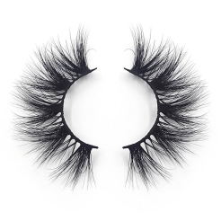 A pair of mink eyelashes(best seller mink lashes supplier)