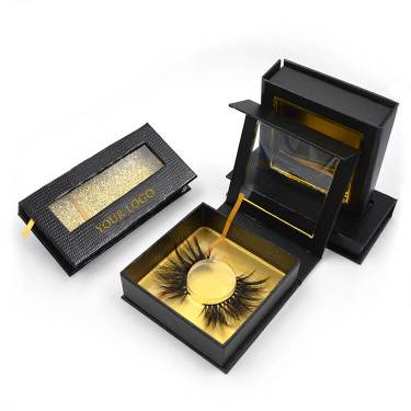 Three own brand eyelashes boxes to develop your eyelash brand
