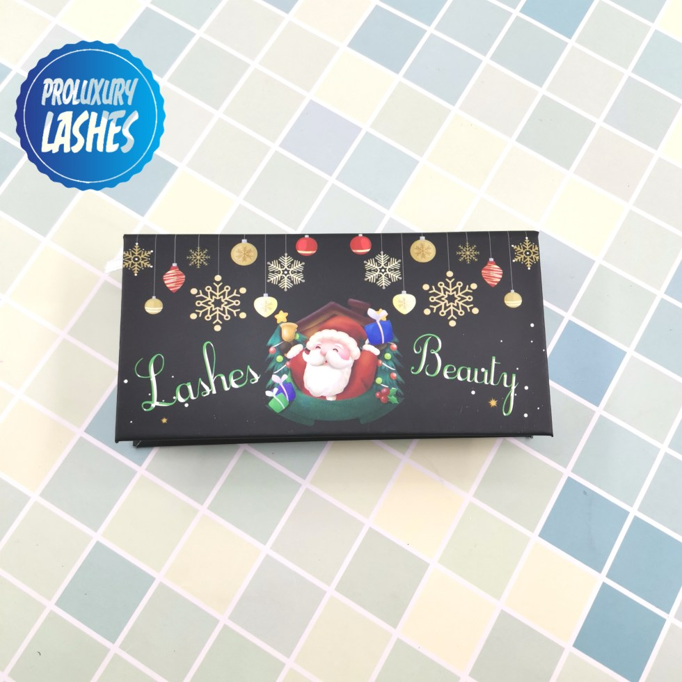 design Christmas unique eyelash box