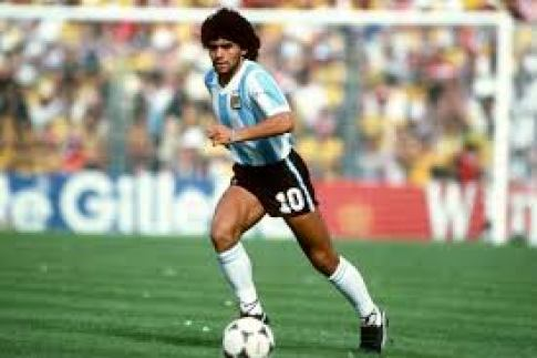25mm eyelashes for Maradona fans