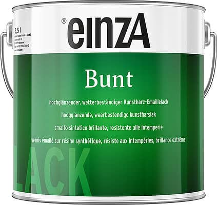einzA Bunt Hochglanzlack 2,5l