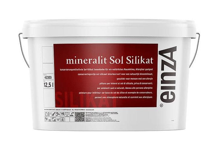 einzA mineralit Sol Silikat 12,5l