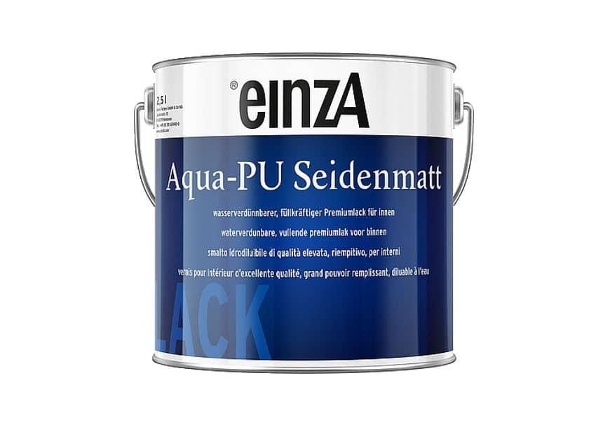 einza Aqua PU Seidenmatt weiß