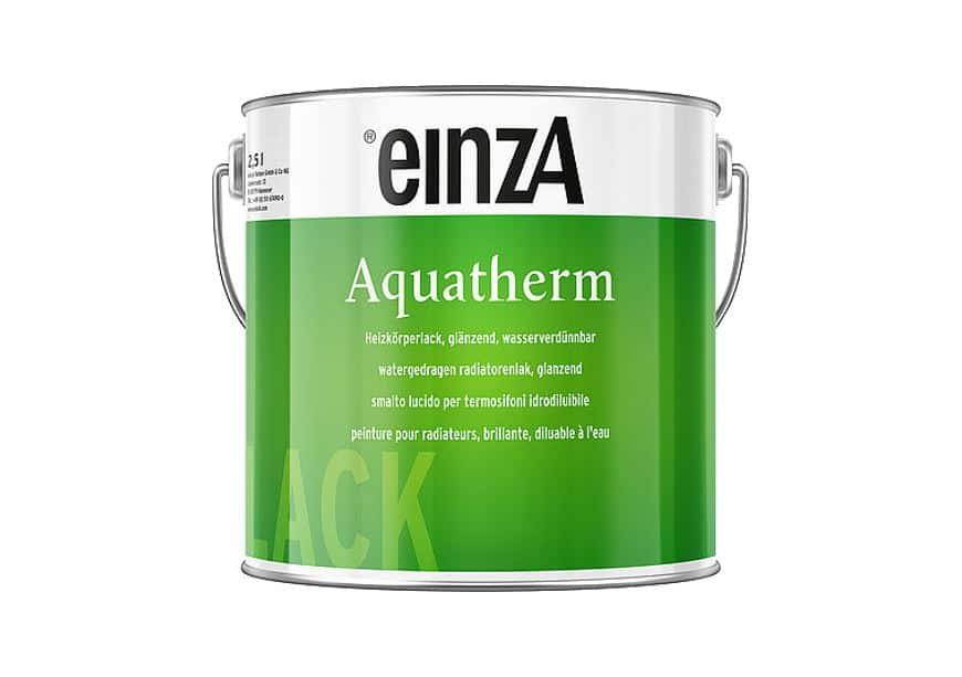 einzA Heizkörperlack Aquatherm Weißlack