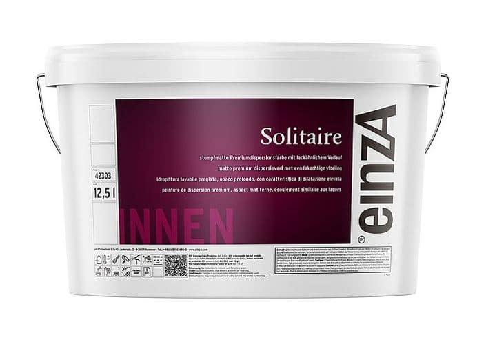 einzA Solitaire Premium Wandfarbe Weiß 12,5l