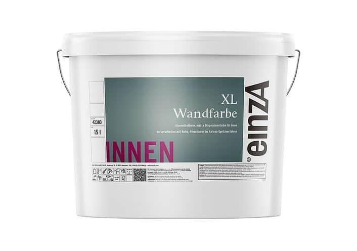 einzA XL Wandfarbe weiß 15l