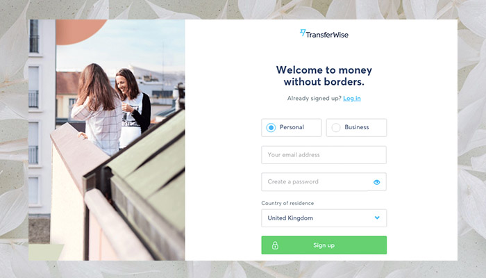 How to open a transferwise account