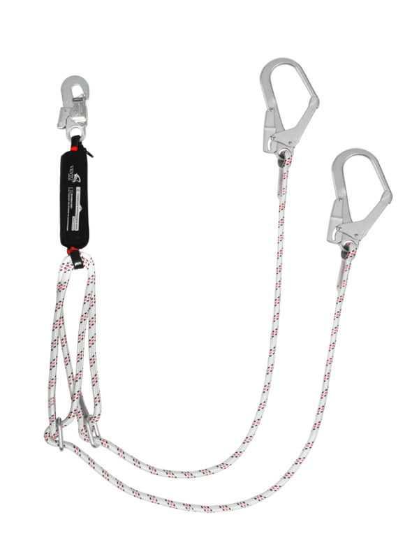 Строп веревочный двойной регулируемый с амортизатором Венто aB22р