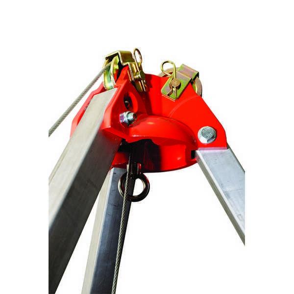 Переносное анкерное устройство «Трипод» слебедкой