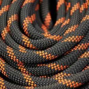 Веревка Lanex Static 11мм Черно-Оранжевый