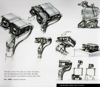 The Art of Wall-e (2/3)